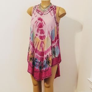 The and Dye Tunic